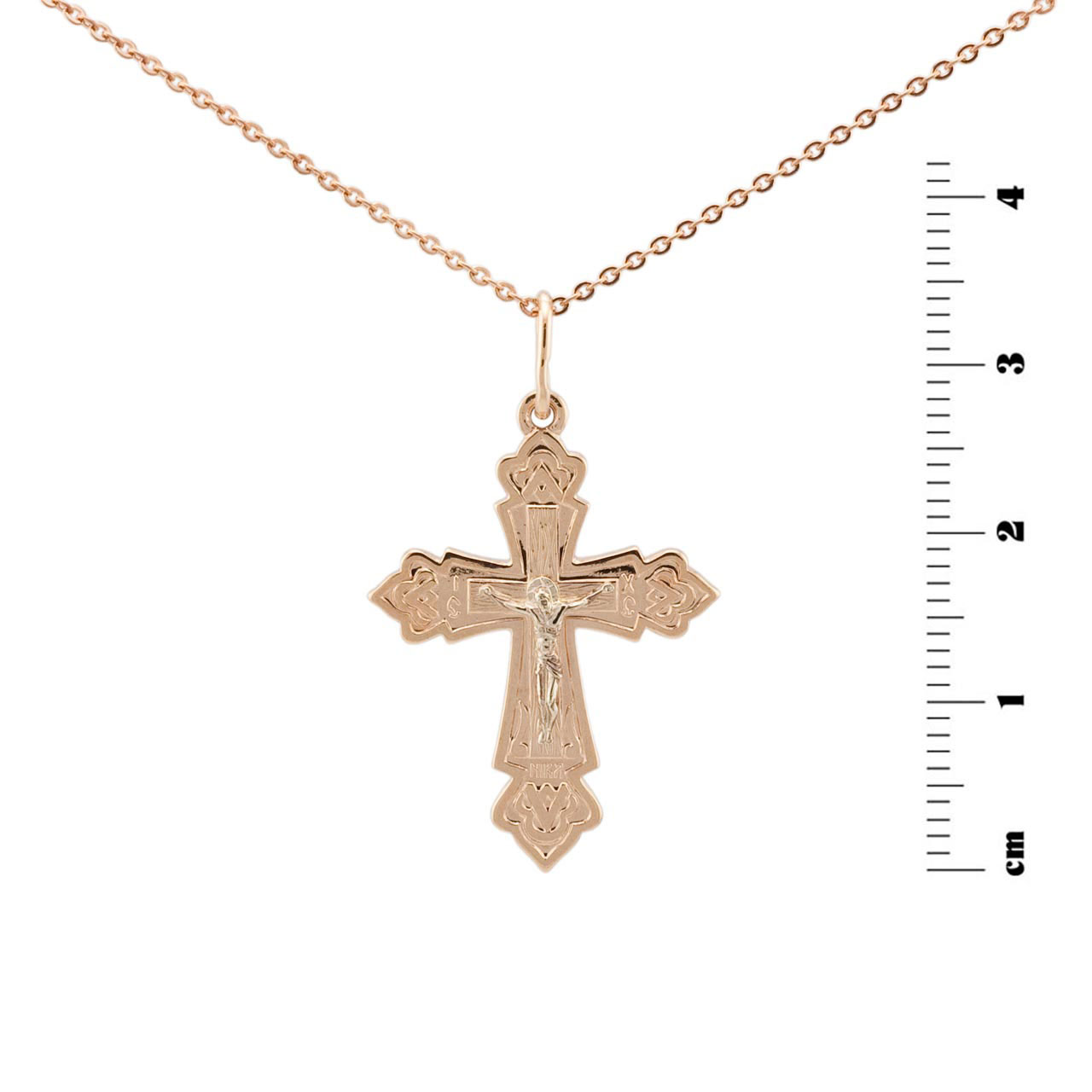 Russian passion gold cross 1