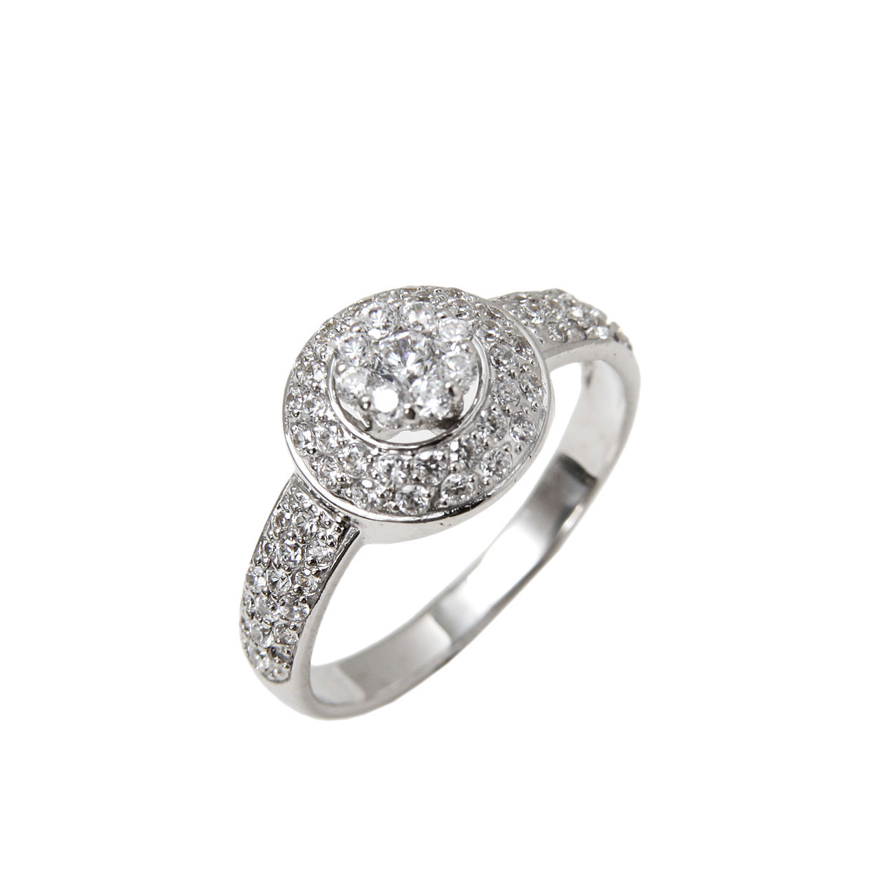 Innovative Engagement CZ Ring