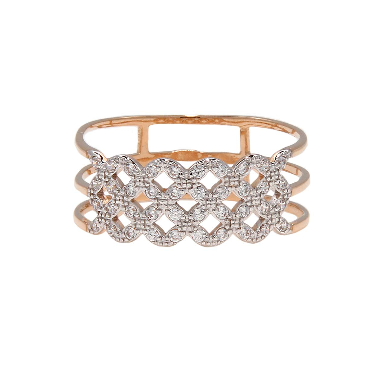 Gold woven flowers band 2