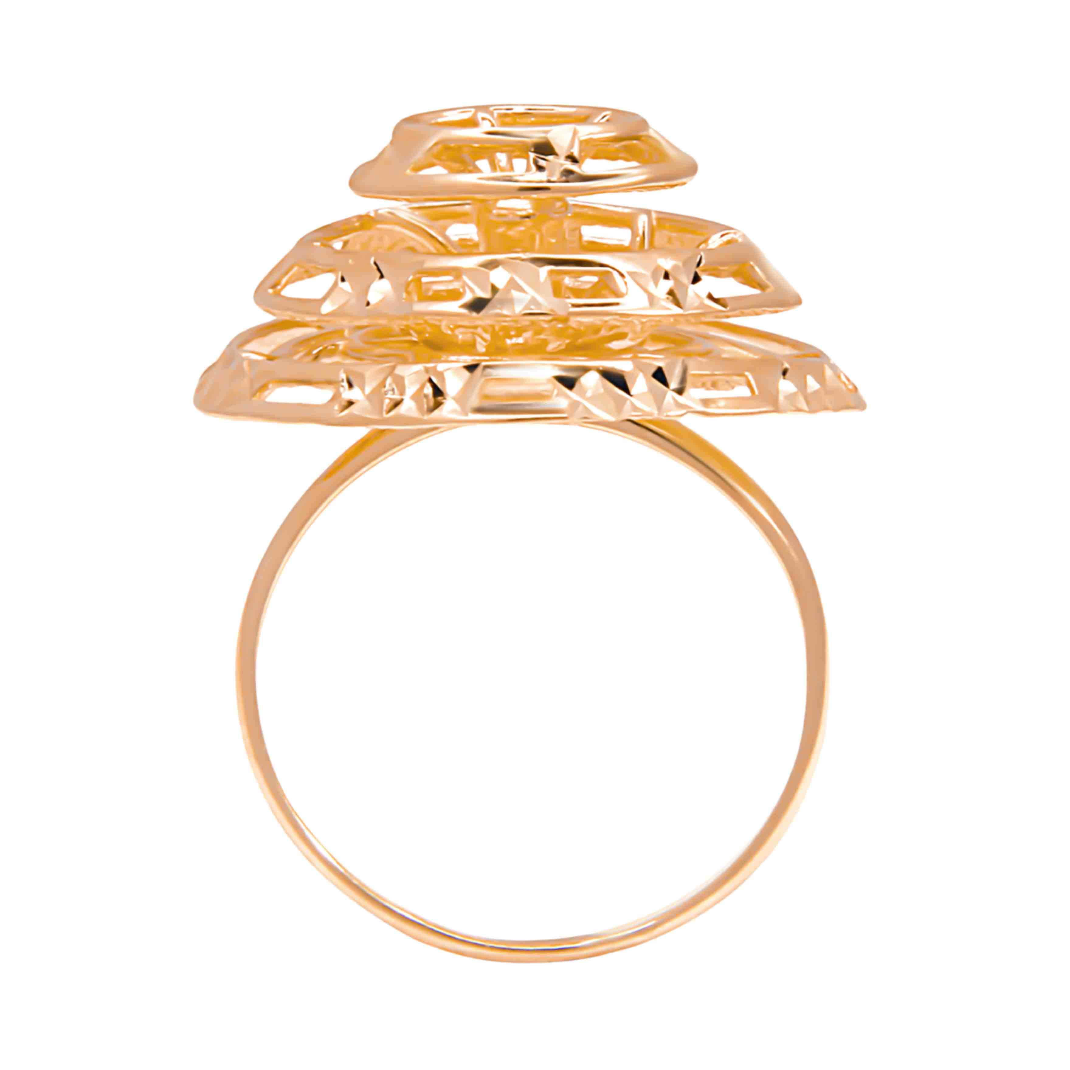 Rose Gold Ring. View 2