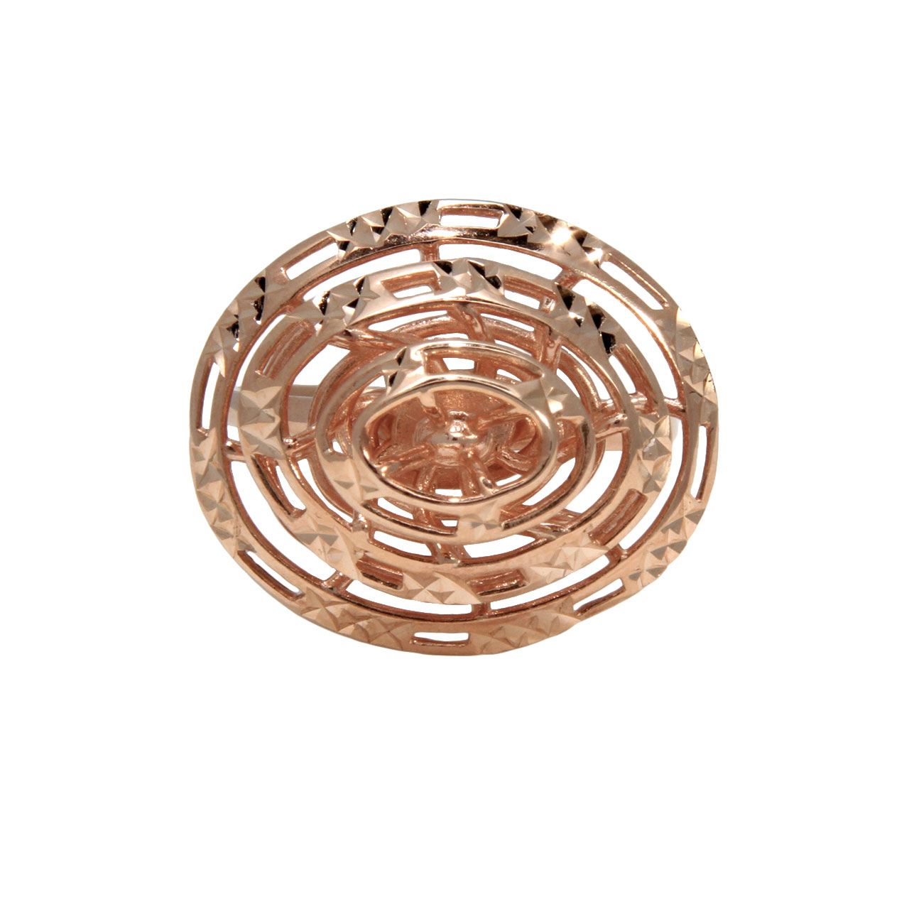 Designer rose gold ring 2