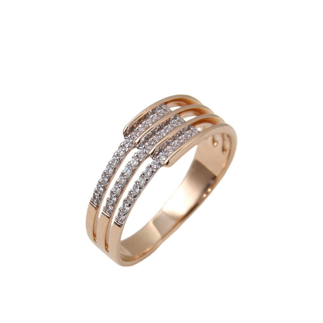 CZ Rose Gold Band