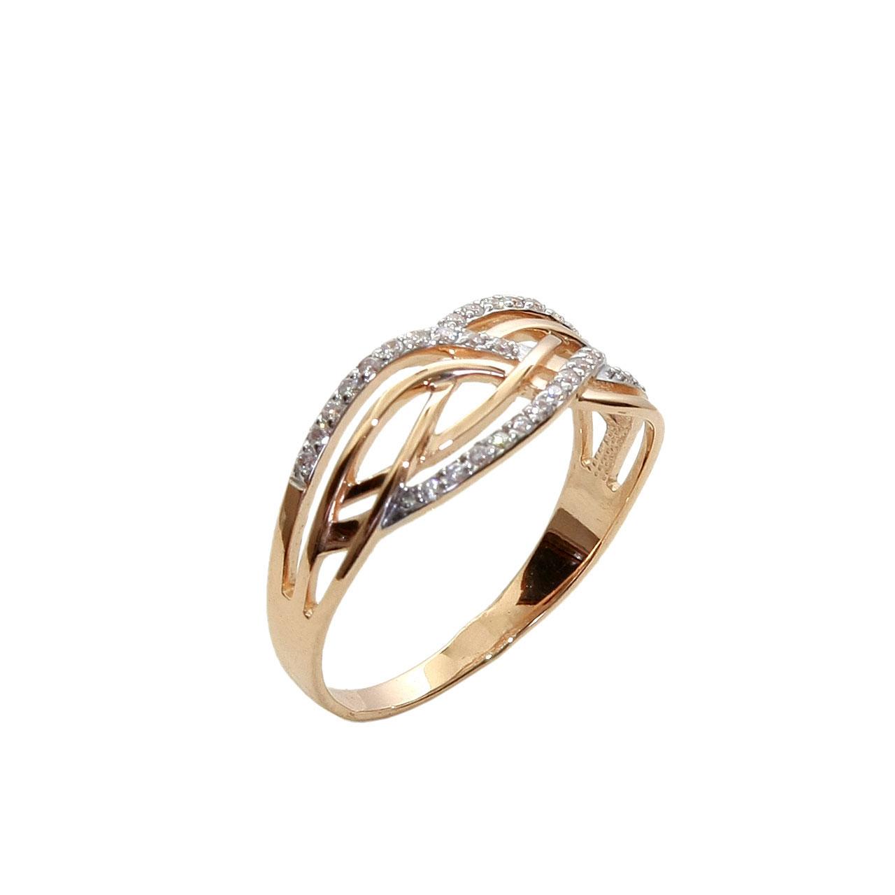Cz Rose Gold Rings Cz Rose Gold Ring Golden Flamingo