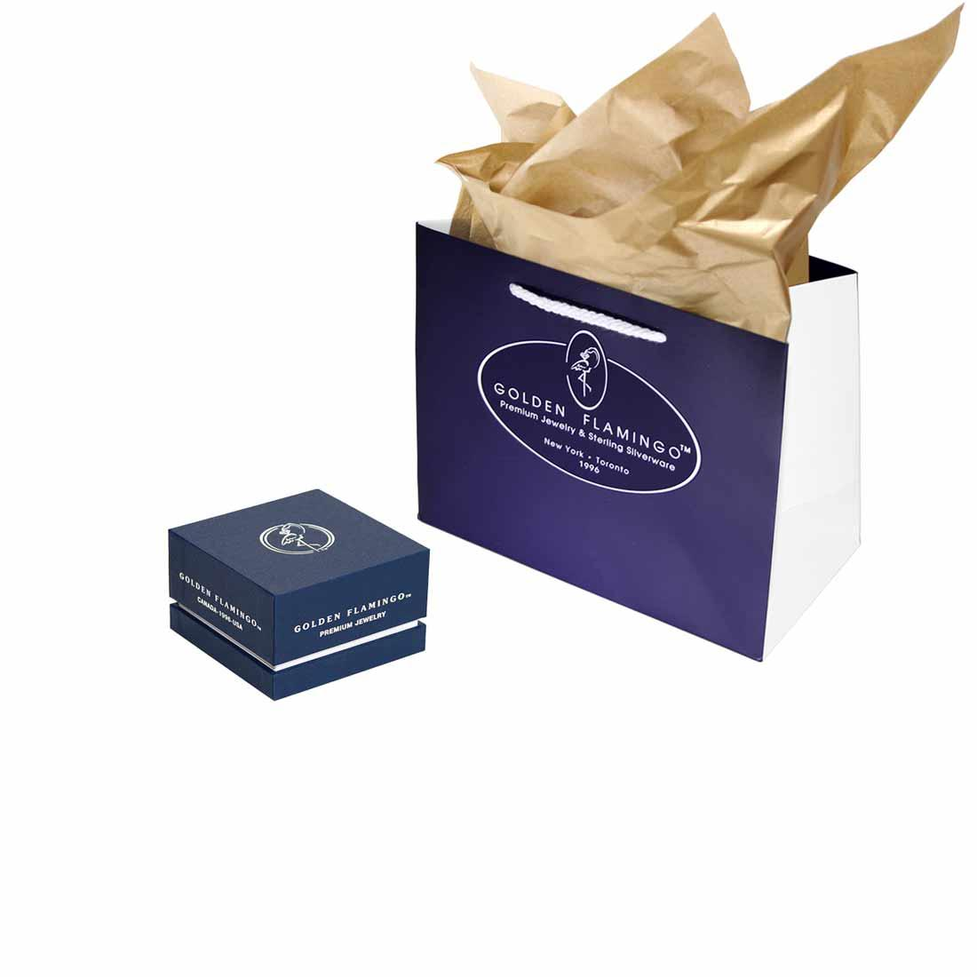 Deluxe Jewelry Gift Box by Golden Flamingo