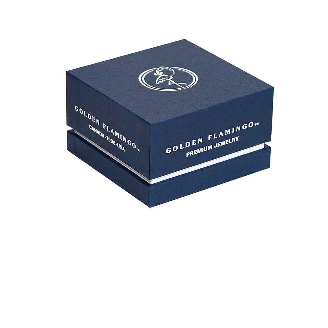 Boutique-quality gift box for gold ring