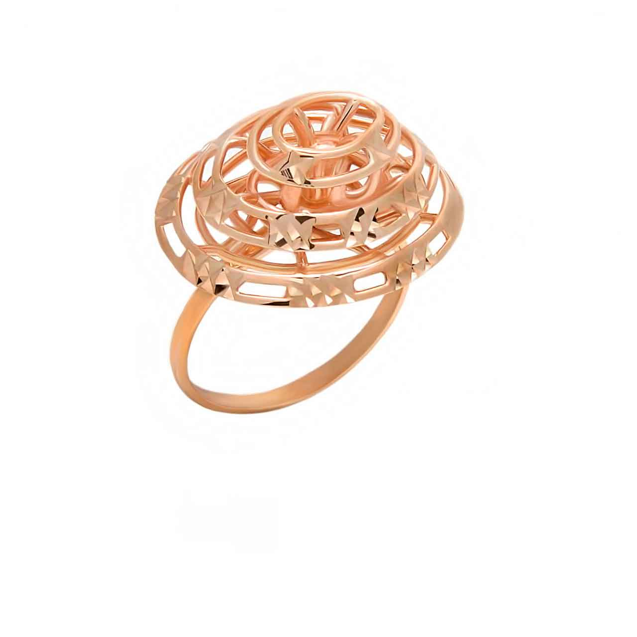 Designer rose gold ring 1