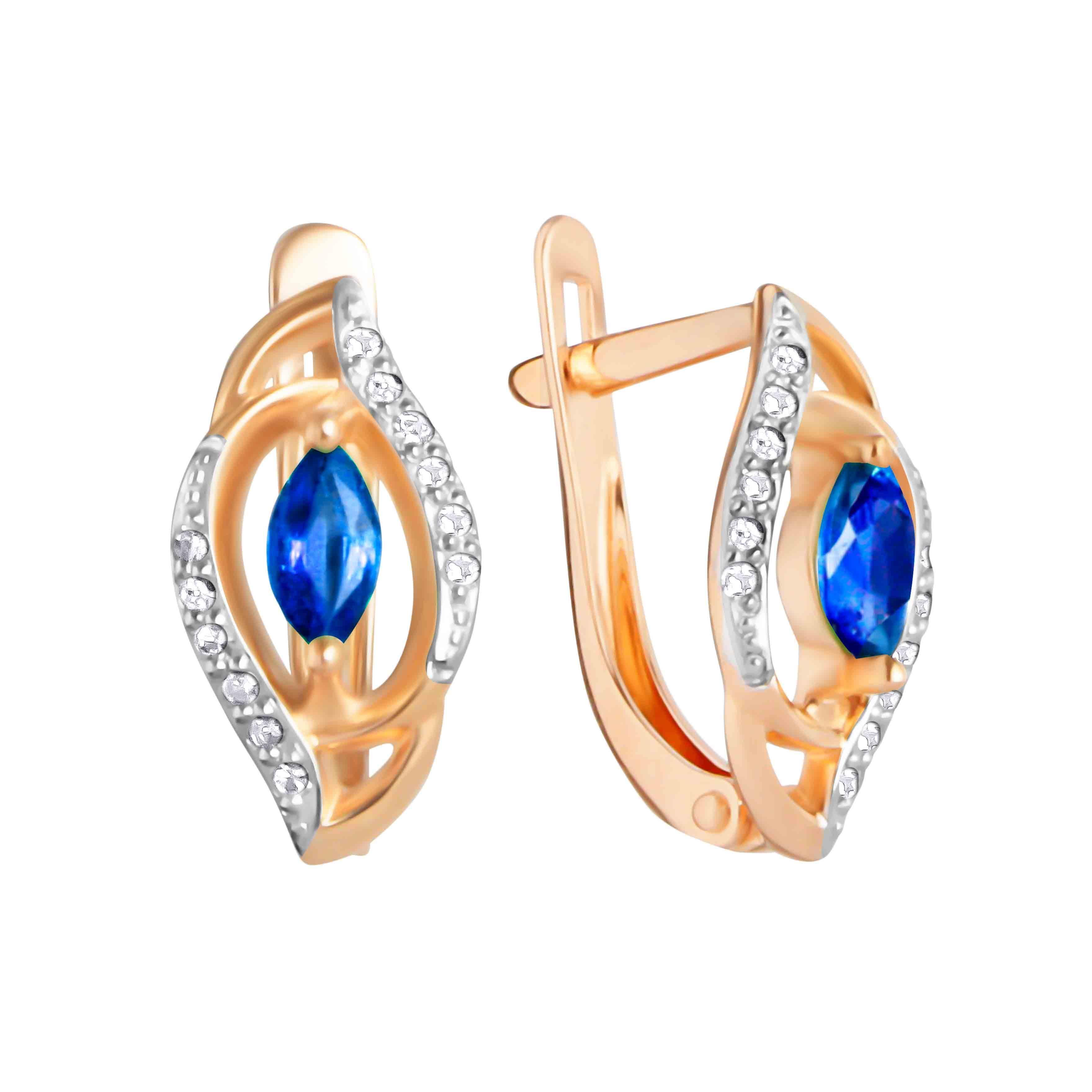 diamond watches shipping gold earrings color and tgw shape marquise sapphire designs white noray today jewelry blue free g product ct stud overstock clarity h