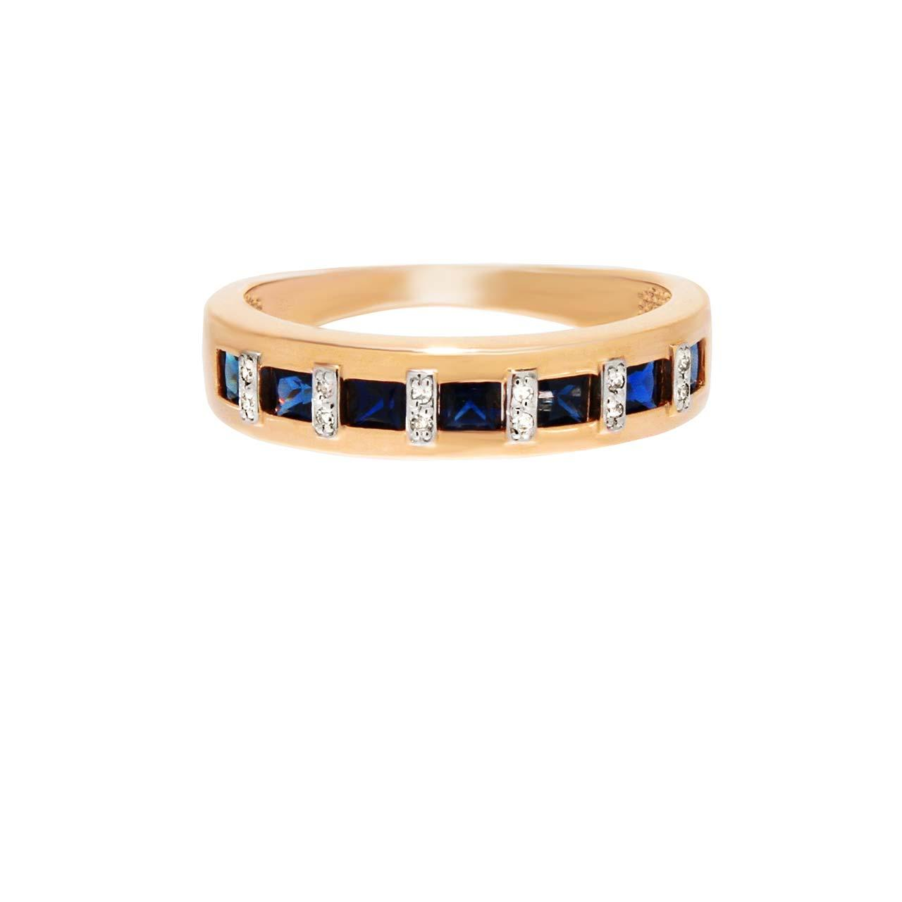 Sapphire channel ring 2