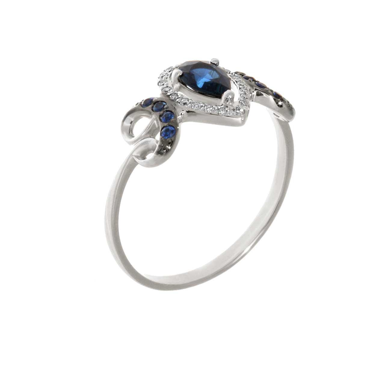 A Decadent Era-inspired Sapphire Ring