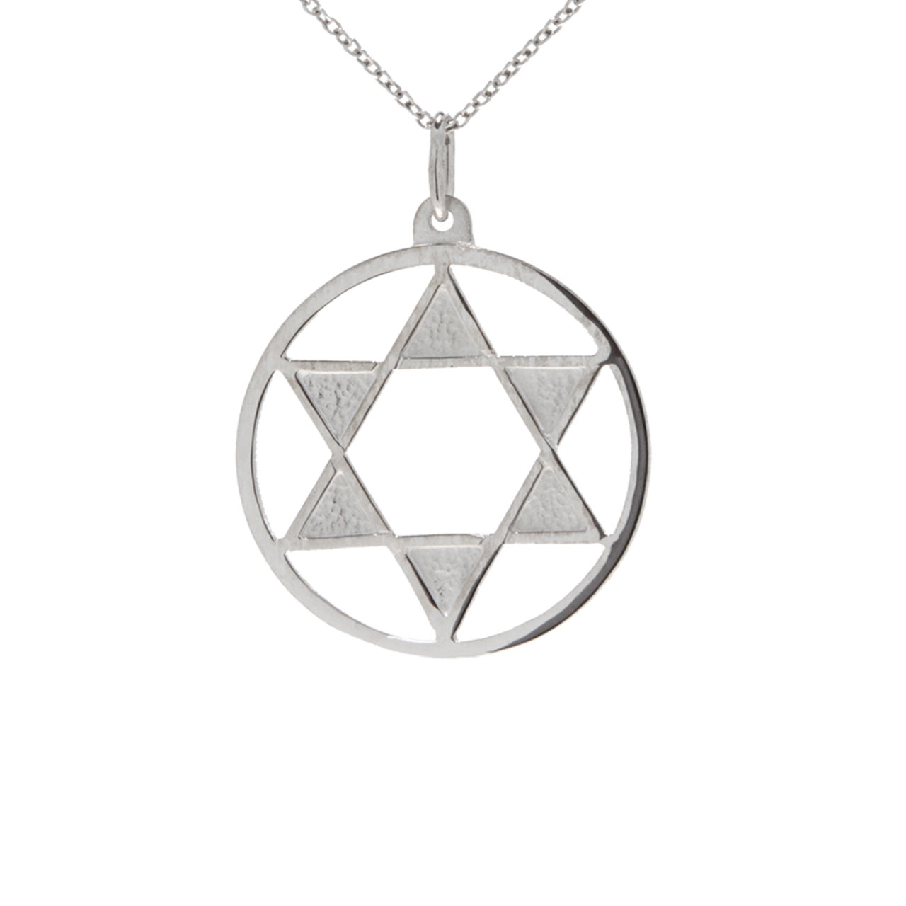 The Star of David Silver Pendant