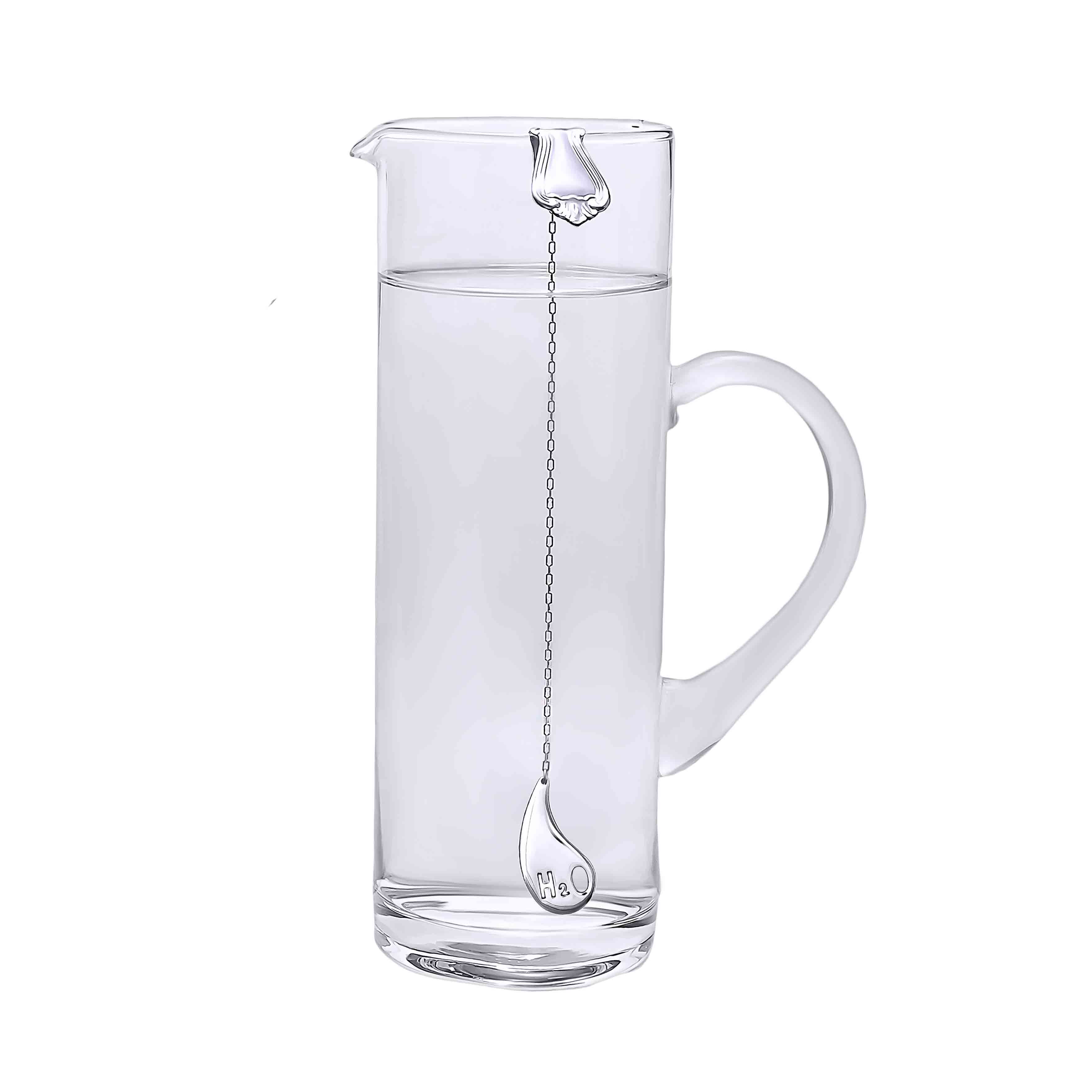 Pitcher with Water Silver Sterilizer 'A Drop of Water'