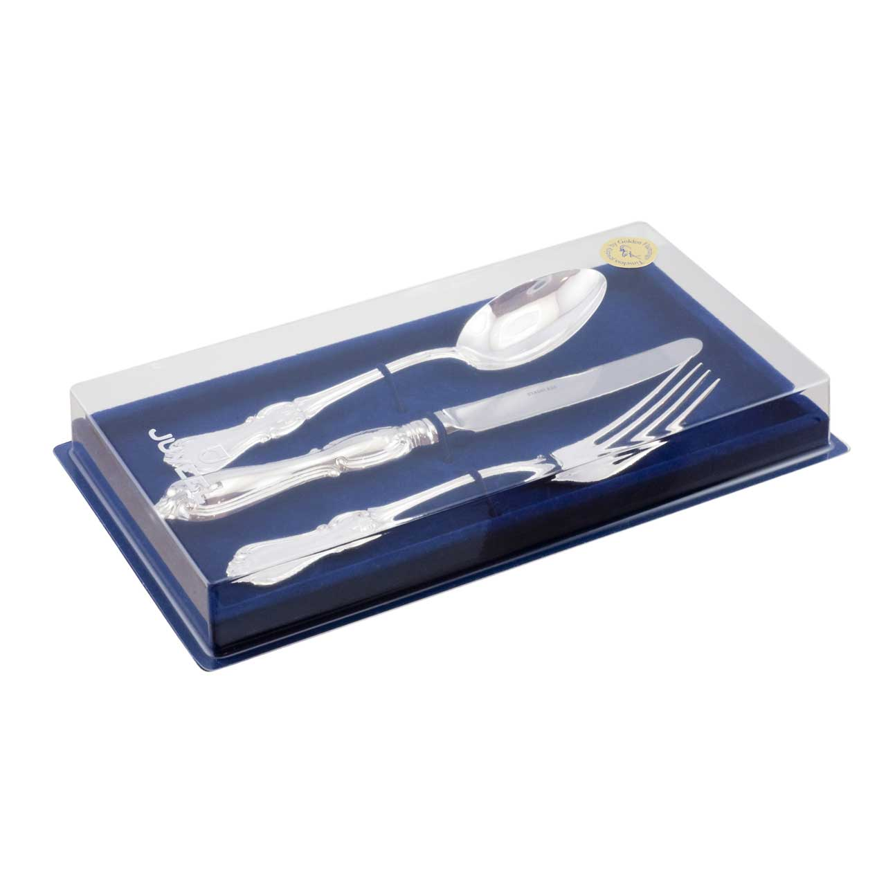 Silver cutlery dinner set 6