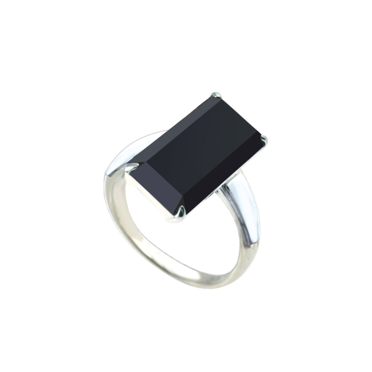 Onyx silver ring 2