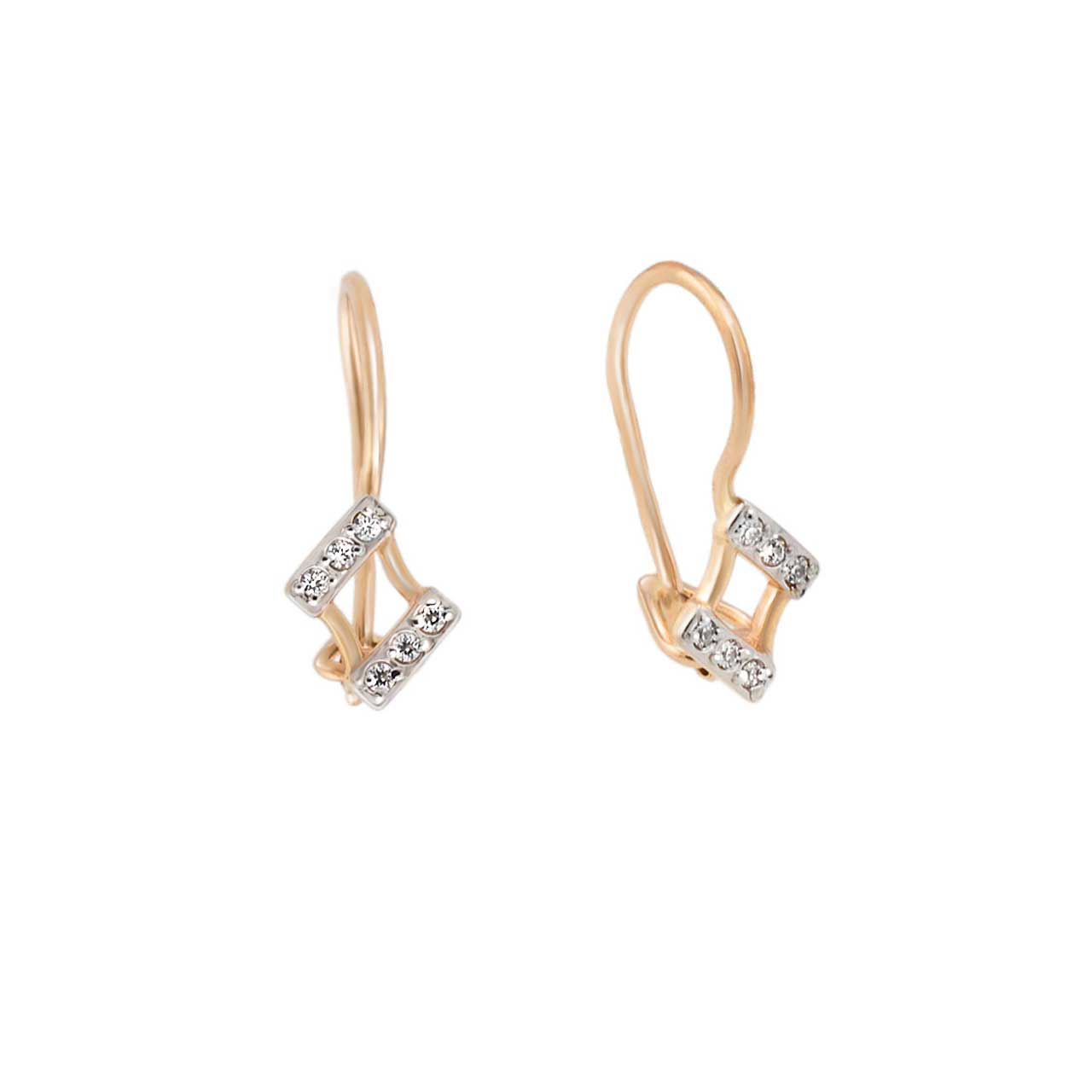 Toddler CZ Earrings