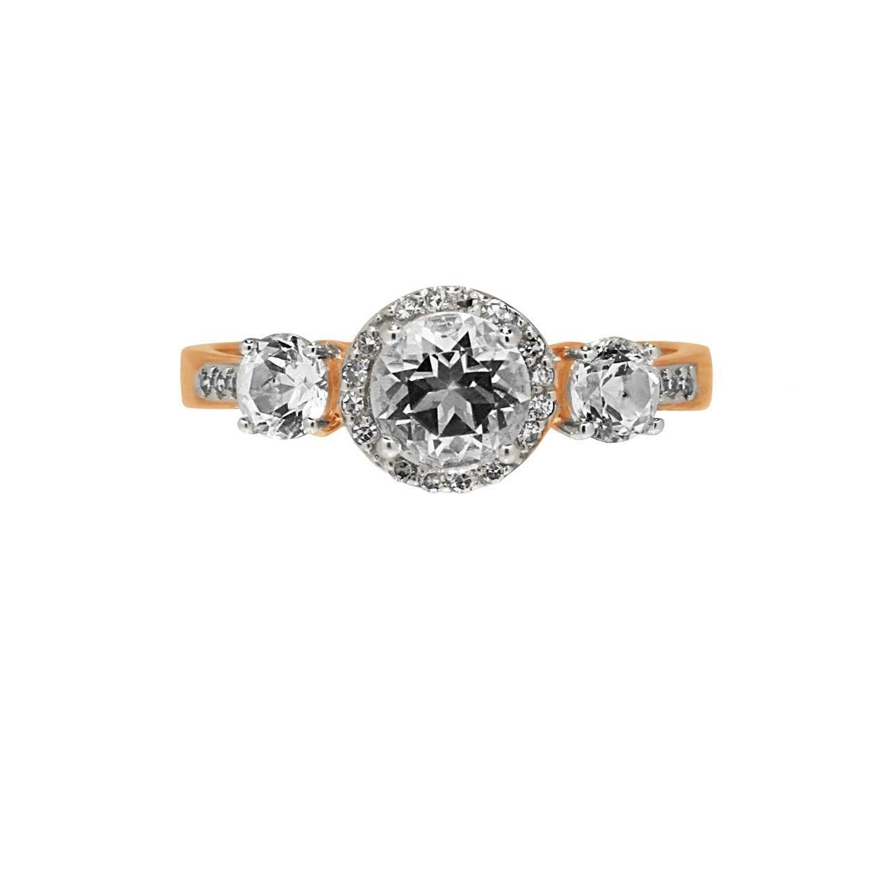Topaz engagement ring 2