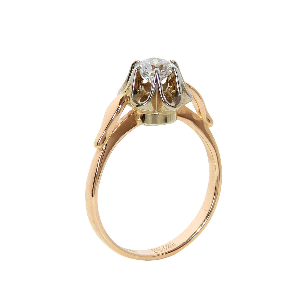 6 Prong Ring With Swarovski CZ