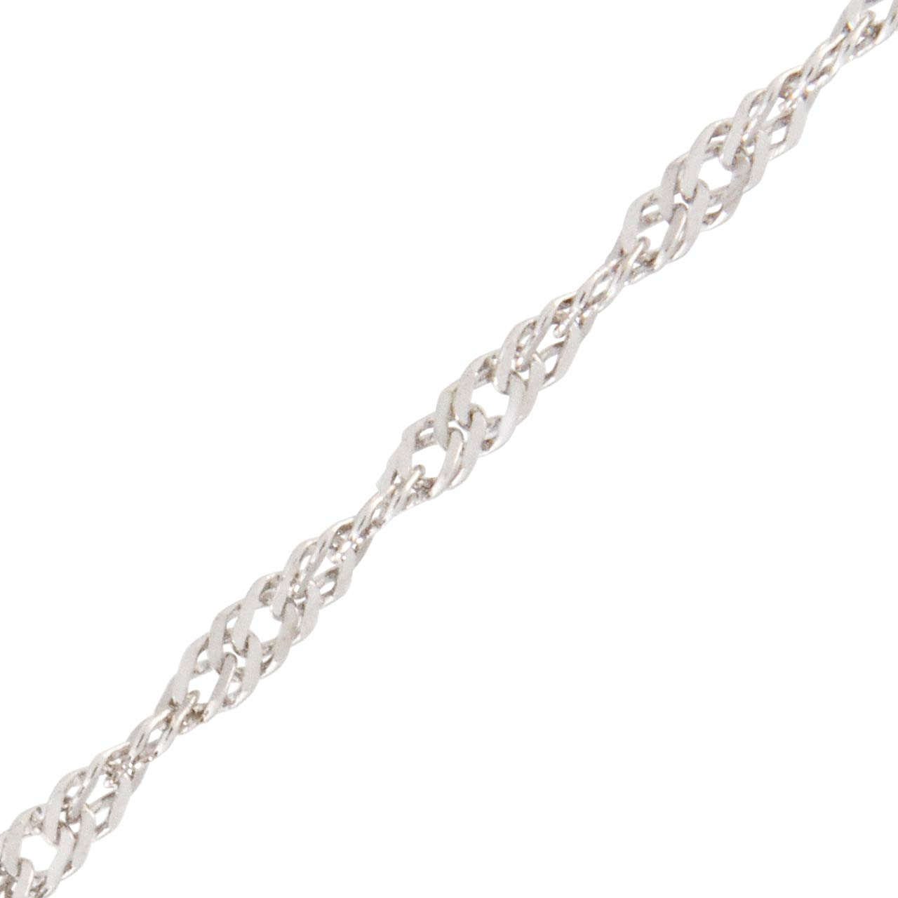 White gold Singapore chain 2